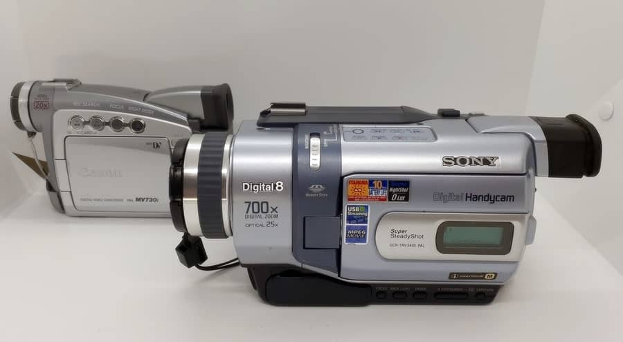Digital 8 Camcorder Transfer To Pc Vhs Converters